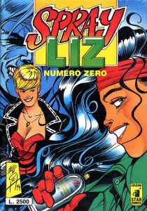Sprayliz, eroina a fumetti della street art