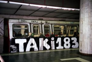 Taki 183, primo tag del graffiti writing