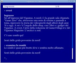 Zigamus, una avventura testuale di Marco Vallarino