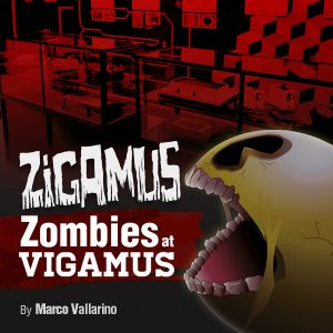 Zigamus, the game set into the video game museum of Rome