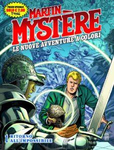 Martin Mystere, la copertina del reboot