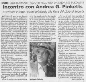 Pinketts su La Riviera di Sanremo, 11-06-2004