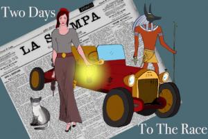 Two Days To The Race, l'avventura testuale vintage di Davide Bucci