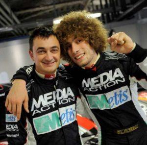 Guido D'Amore e Marco Simoncelli al Rally Monza Show