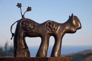 Carin Grudda, scultura