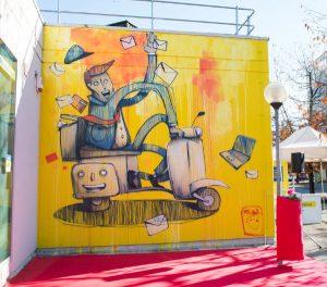 Street art di MrFijodor a Settimo Torinese