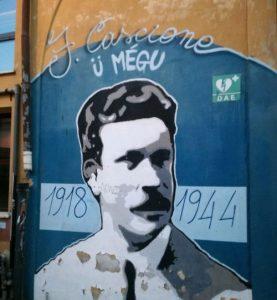 Felice Cascione nella street art di Mrfijodor