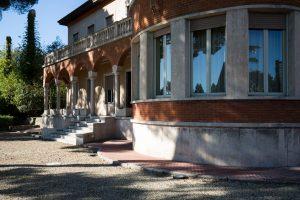 Villa Faravelli, Museo di Arte Contemporanea di Imperia, esterni