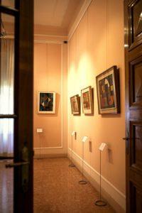 Villa Faravelli, Museo di Arte Contemporanea di Imperia, quadri