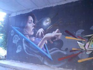 Street art a Vessalico