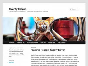 Il template Twenty Eleven