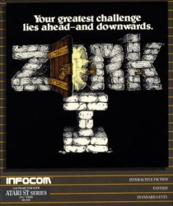 Zork, Interative Fiction made in USA