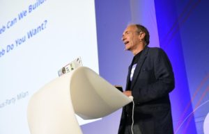 Tim Berners Lee parla di WWW e Solid