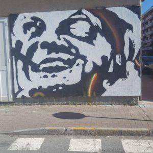 Pinketts, il murale di Andora