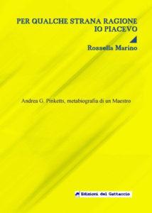 La biografia di Pinketts scritta da Rossella Marino