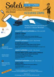 Soleà 2020, festival della cultura mediterranea a Sanremo