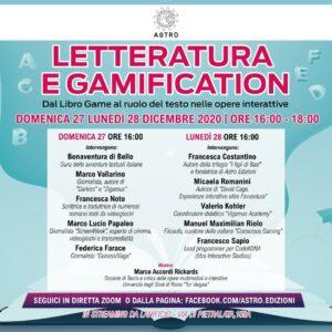 Letteratura e Gamification, a Roma due giorni di dibattito